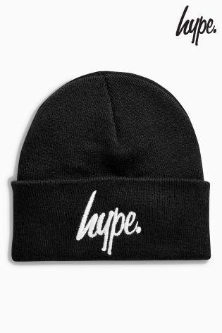 Hype ビーニー帽(ブラック)