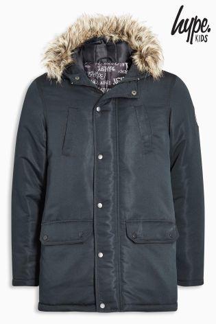 Hypeパーカージャケット(5歳~12歳)ブラック