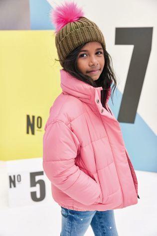 パッド入りジャケット   (3~6歳)  ピンク