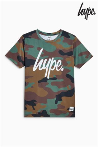 Hype迷彩柄Tシャツ(3歳~12歳)