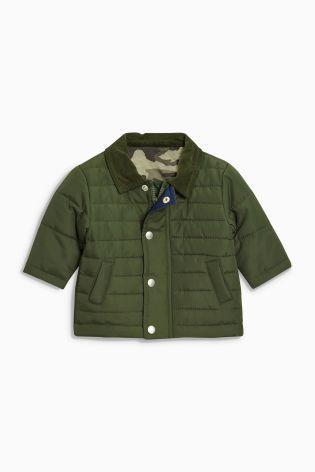 パッド入りジャケット (0~24か月) グリーン