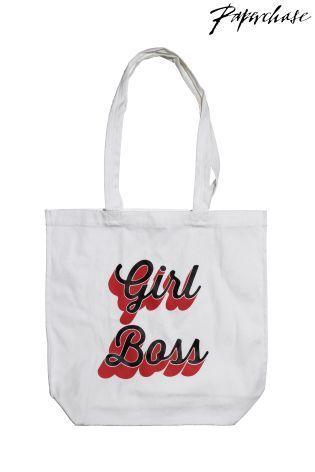 Paperchase Girl Boss ショッパーバッグ