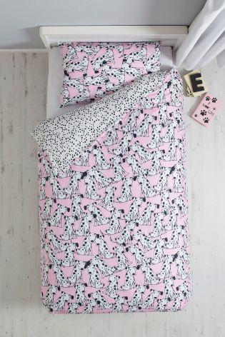ダルメシアン柄 シングルサイズ 掛×枕カバー