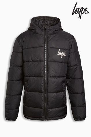 Hypeパフジャケット(5歳~12歳)ブラック