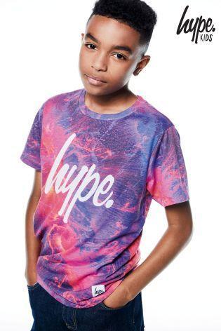 Hype Tシャツ(3歳~12歳)マグマプリント