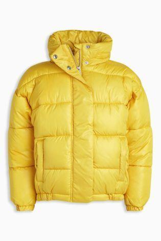 パッド入りジャケット    (3~6歳)  イエロー