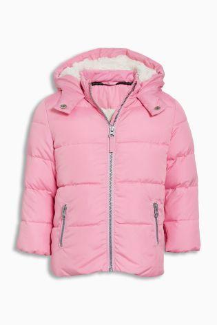 パッド入りジャケット    (3~24か月) ピンク