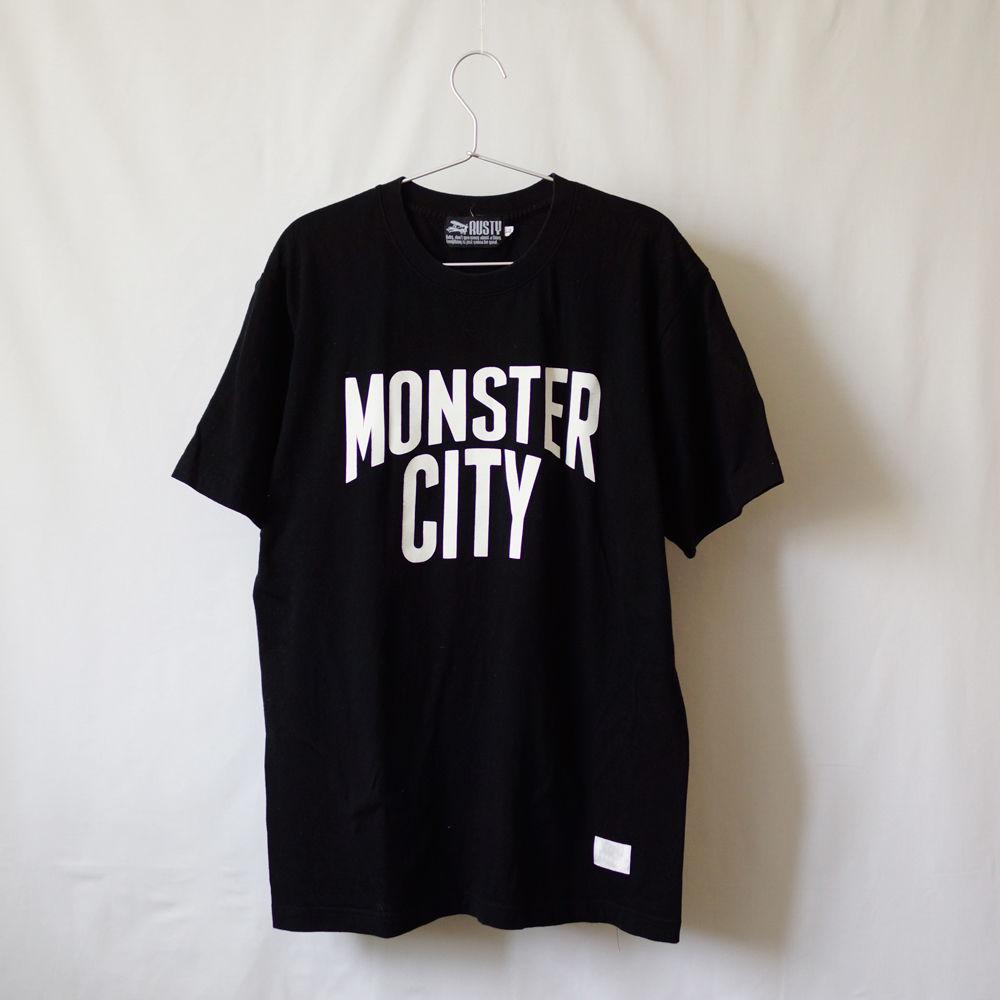 Tシャツ / MONSTER CITY(ブラック)