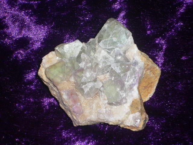 フローライト原石