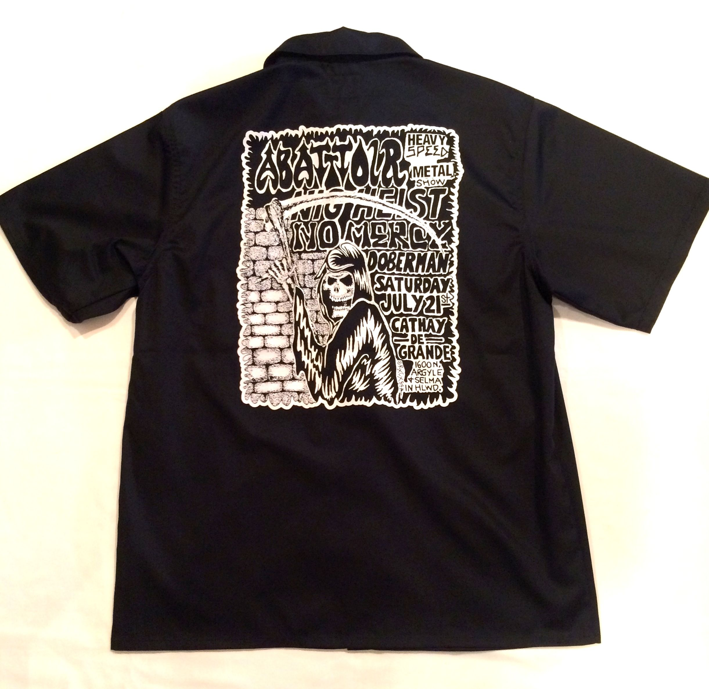 FUCT SSDD RXCX FLYER S/S SHIRT 4303