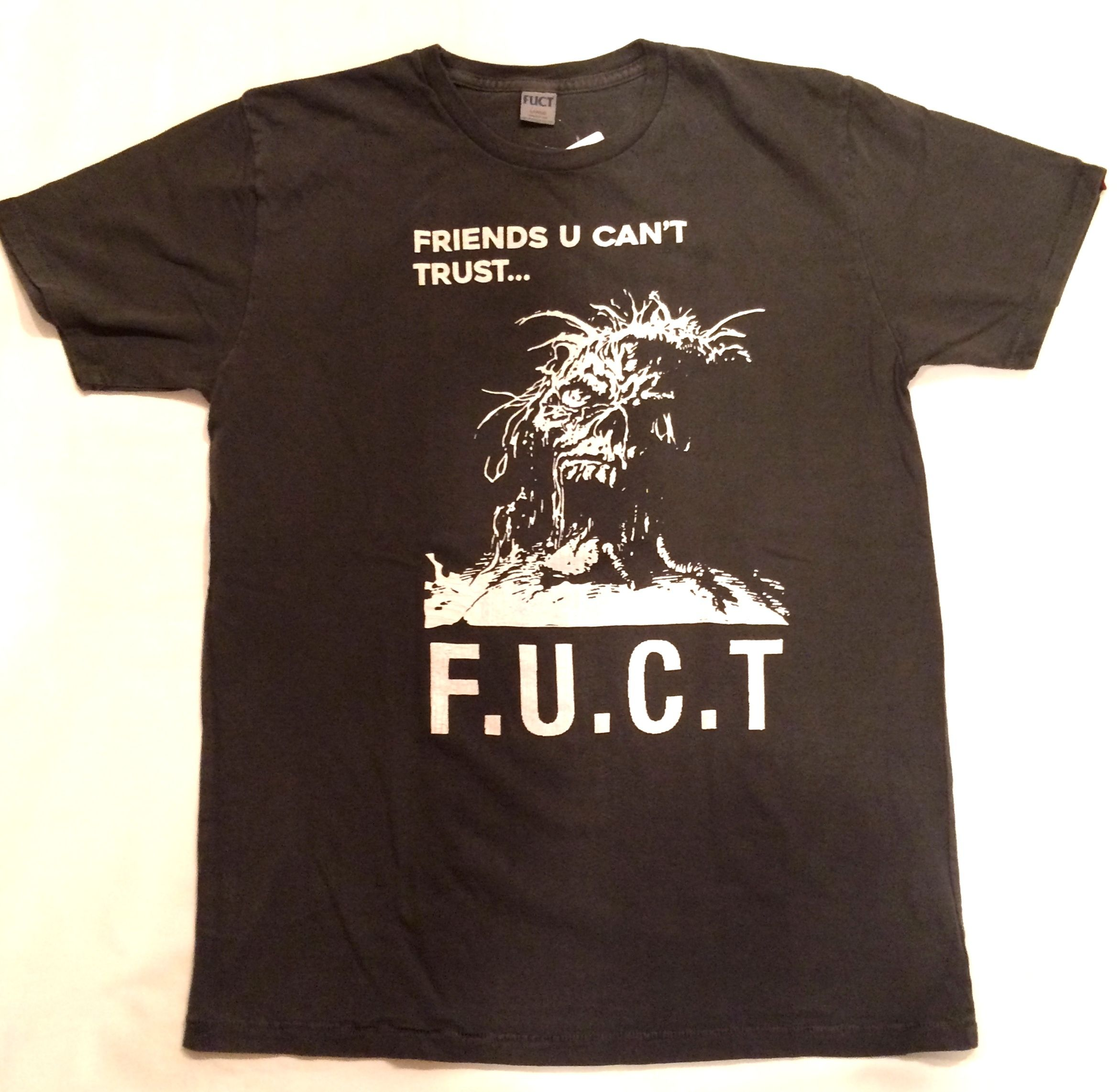 FUCT SSDD OPEN YOUR MOUTH TEE 8601 Tシャツ ブラック