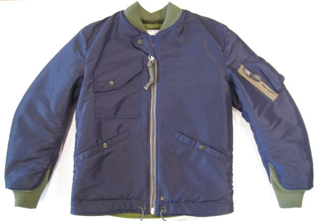 "MISTER FREEDOM × SUGAR CANE HELO JACKET ""NAVY"" SC13182"