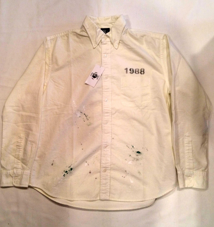PAWN 1301 SPLATTER SHIRT 長袖シャツ