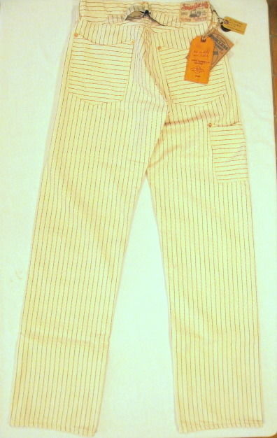 SUGAR CANE 11.5oz. WHITE WABASH WORK PANTS SC41263A 401WhtA