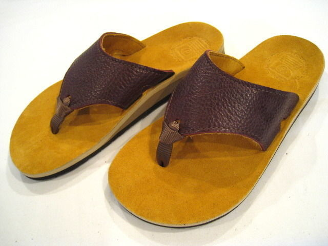 The Sandalman Mustard x Brown