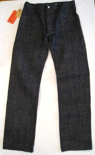 SUGAR CANE×Mr.FREEDOM SEA HUNT 11oz. FIBER DENIM TOP SIDERS SC41292 421NvyA
