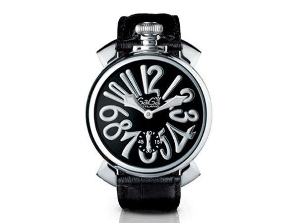 GAGA MILANO マヌアーレ 48mm 腕時計 スイス製 5010.4S メンズ
