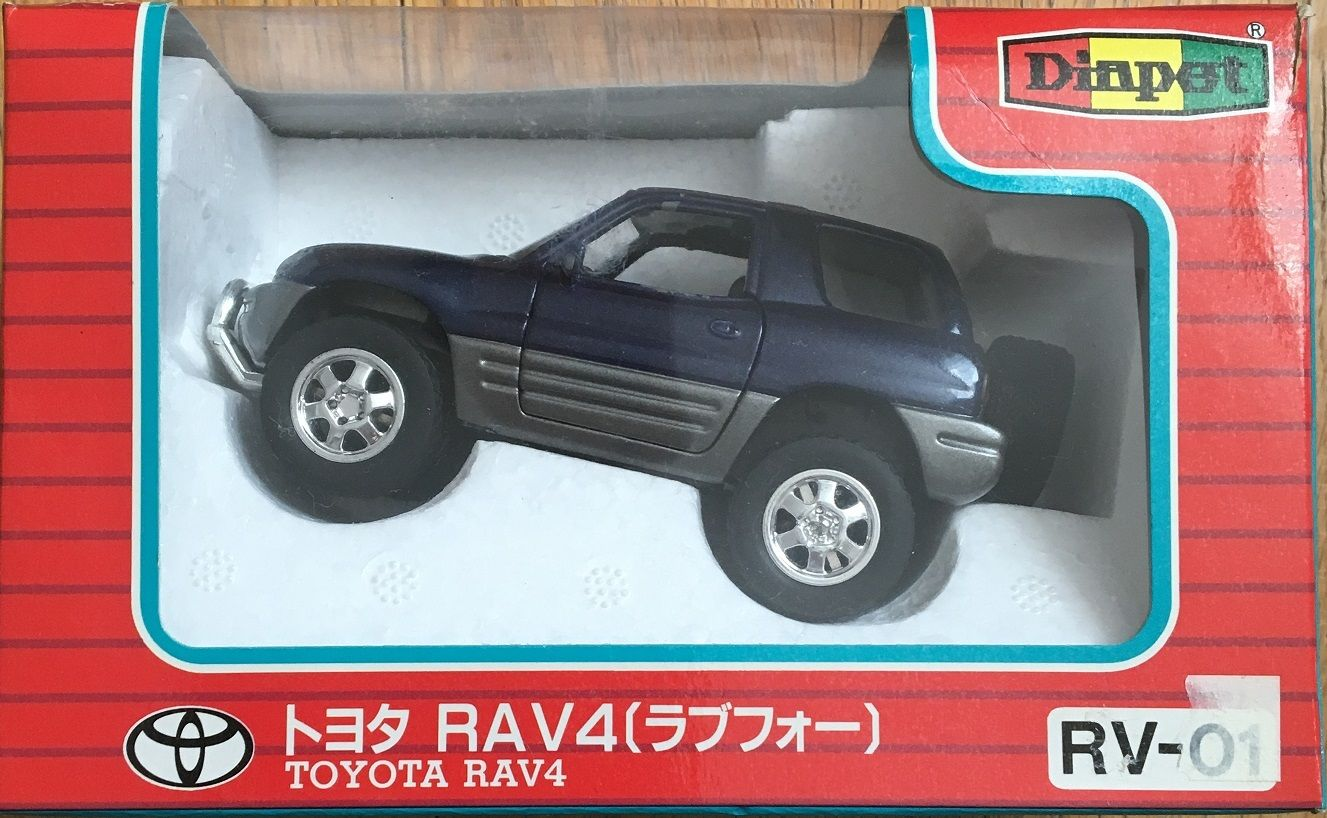 セガ・ヨネザワ ダイヤペット トヨタ RAV4(ラブフォー) 1/40スケール 中古