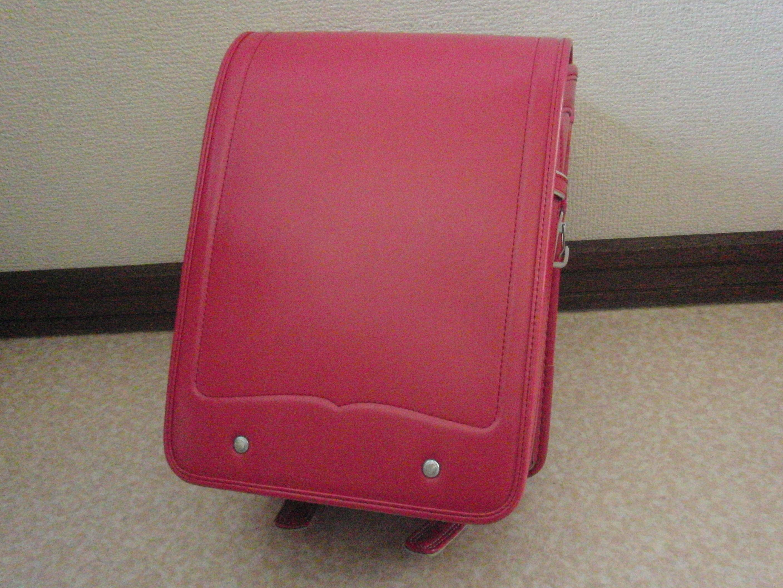ランドセル olivier enfants 日本製  ピンク 綺麗なワンオーナー中古 オートロック式 防犯ブザー付き