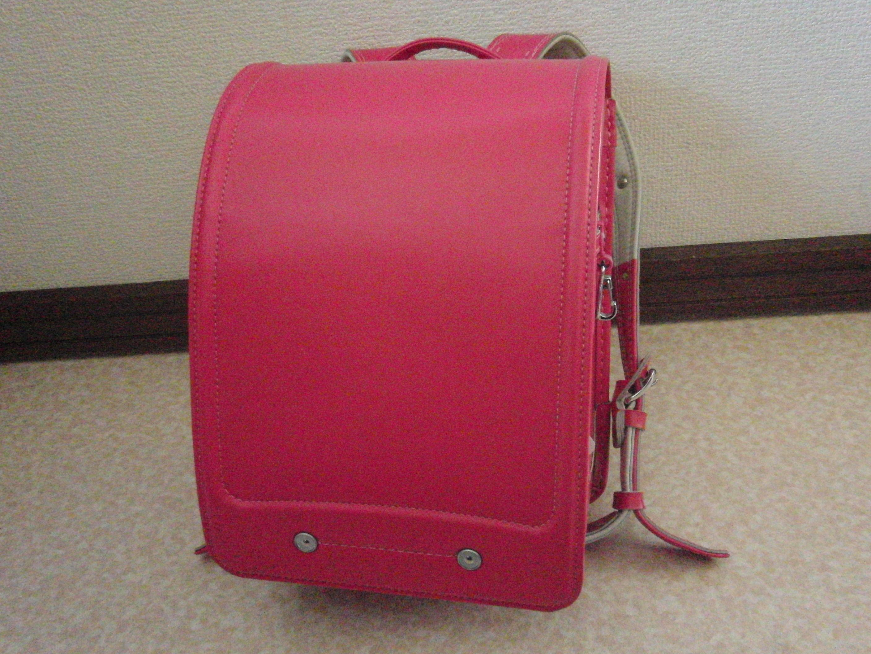ランドセル クラリーノ 日本製 ピンク 綺麗なワンオーナー中古 オートロック式