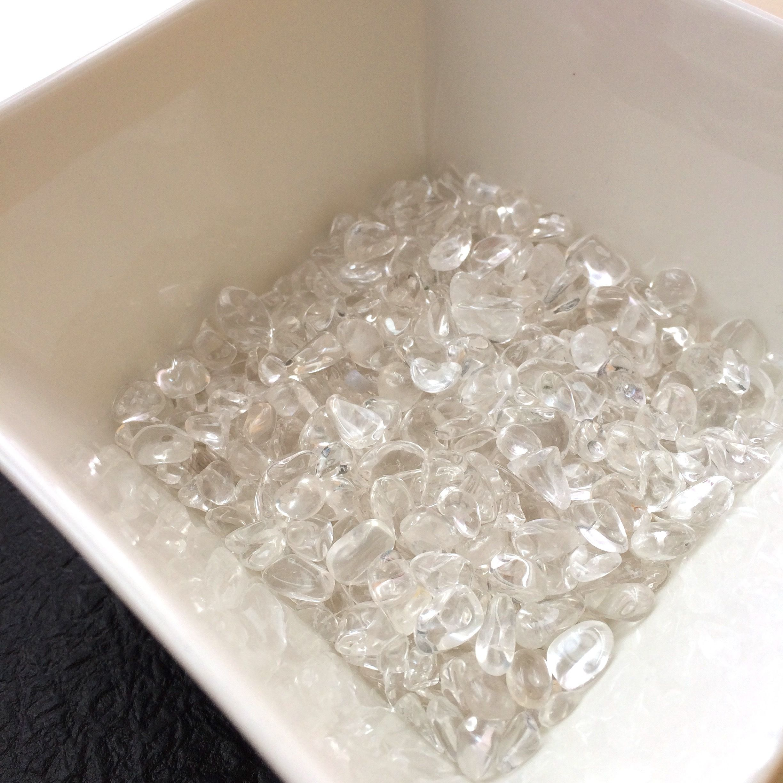 【入手困難5A・特上級水晶さざれ石天然ブラジル産200グラム 】