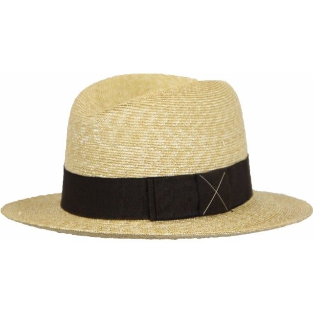 [GUERRA] g162002 ゲラ イタリア製 ブレード中折れHAT 帽子 おしゃれ ストローハット 麦わら帽子 春夏新作 リゾート帽子 レディースメンズ