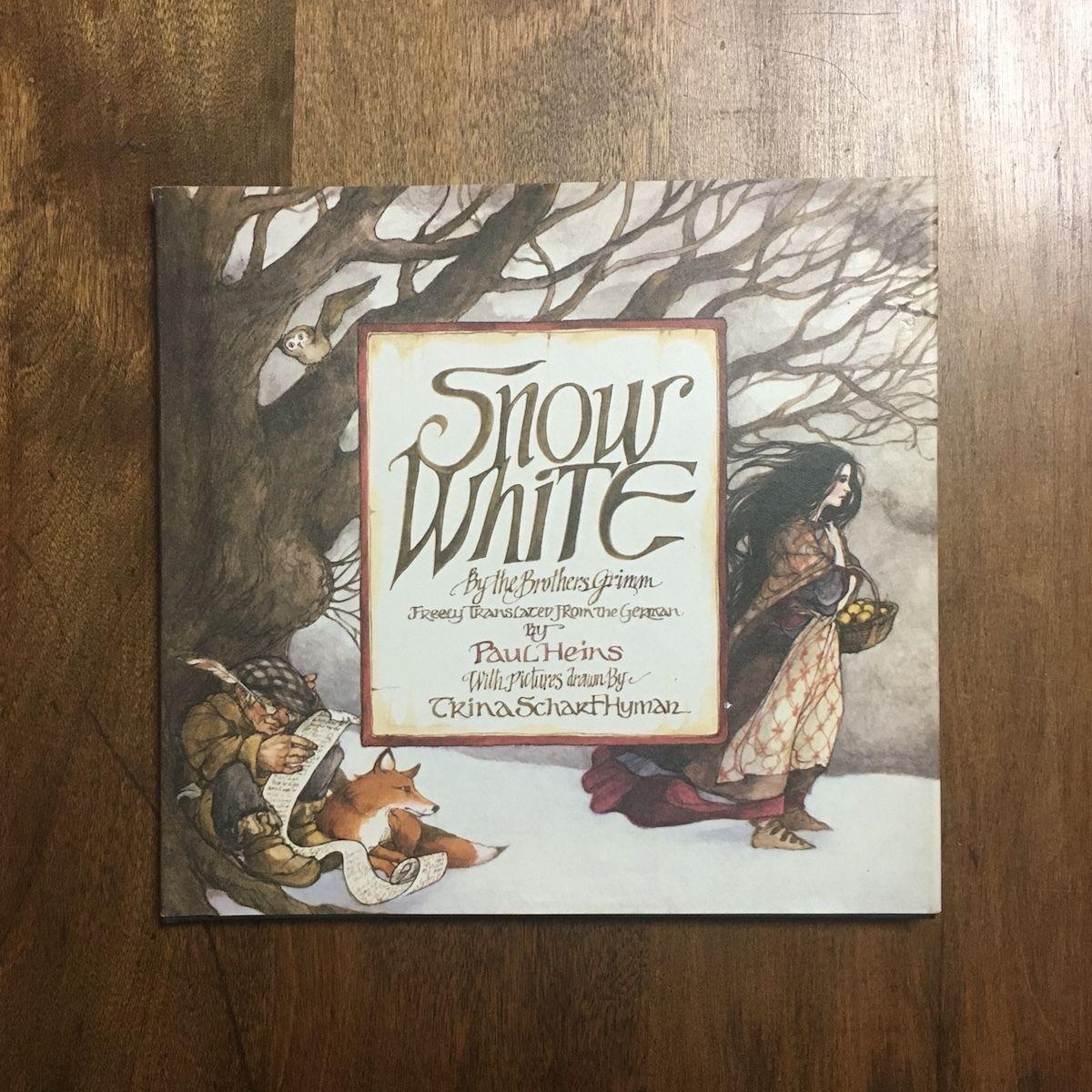 「Snow White」Trina Schart Hyman(トリーナ・シャート・ハイマン)