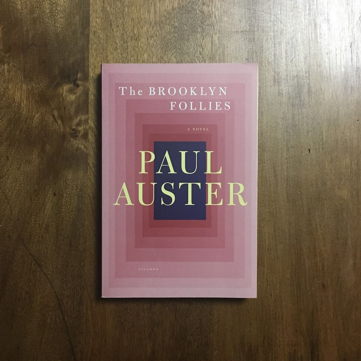 「The BROOKLYN FOLLIES」PAUL AUSTER(ポール・オースター)
