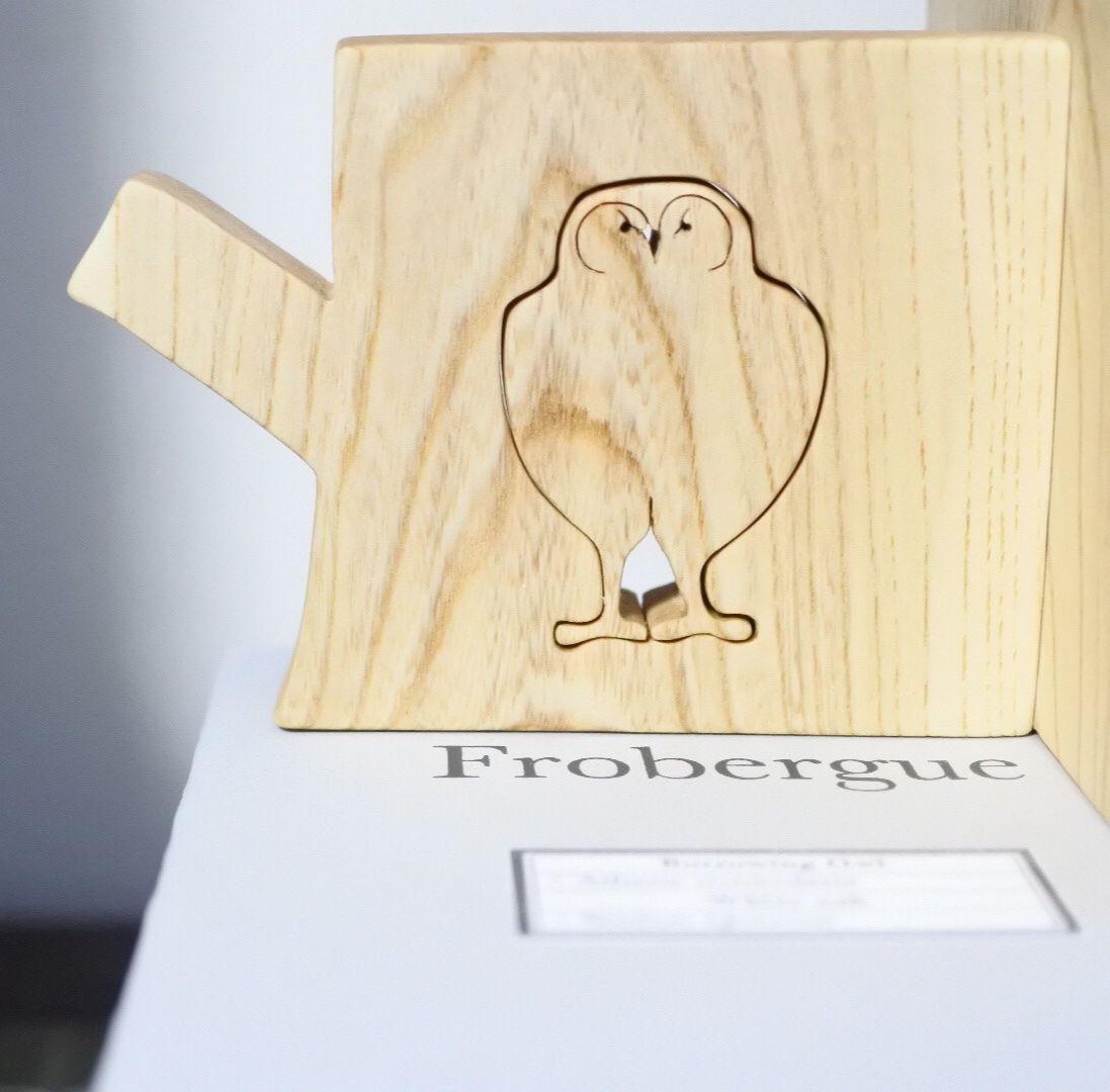 「BIRD BOOK END(アナホリフクロウ/セン)」