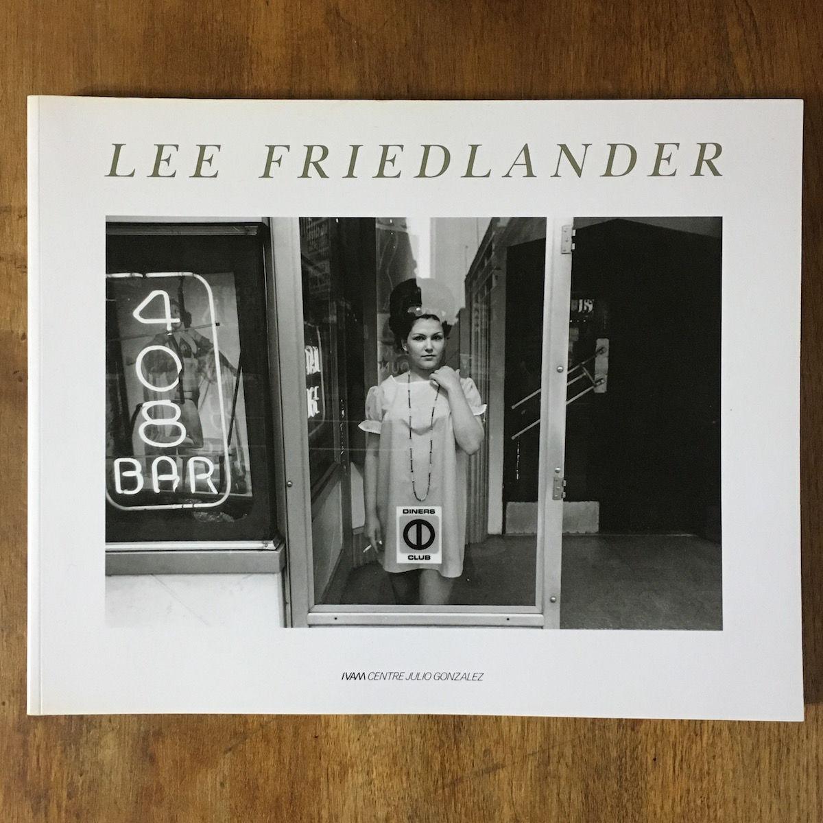 「LEE FRIEDLANDER リー・フリードランダー写真集」