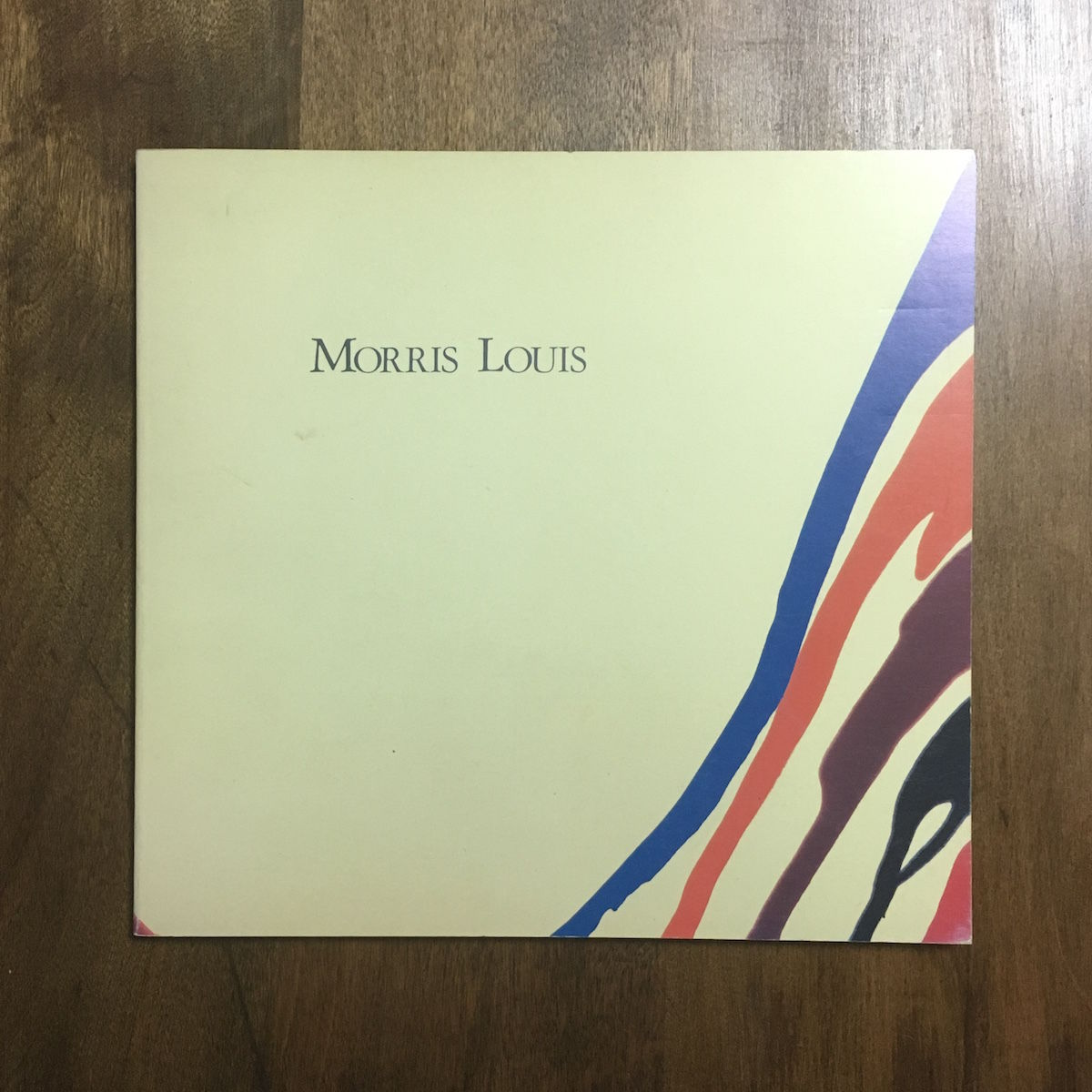「モーリス・ルイス展図録 1986年」滋賀県立近代美術館