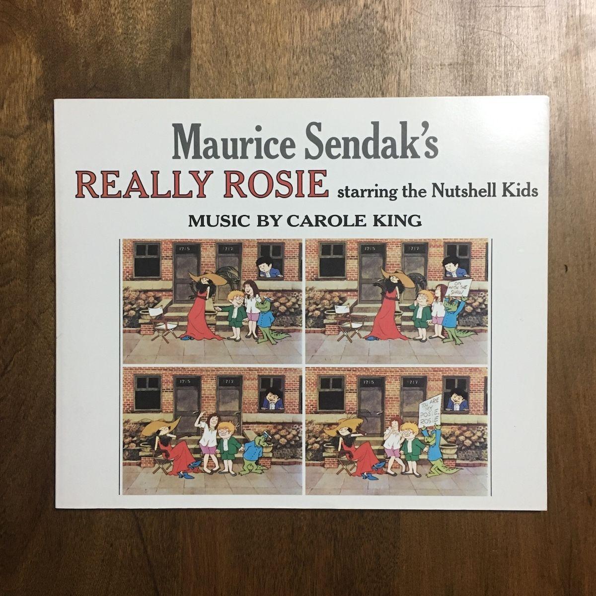 「Maurice Sendak's REALLY ROSIE」Maurice Sendak(モーリス・センダック) Carole King(キャロル・キング)