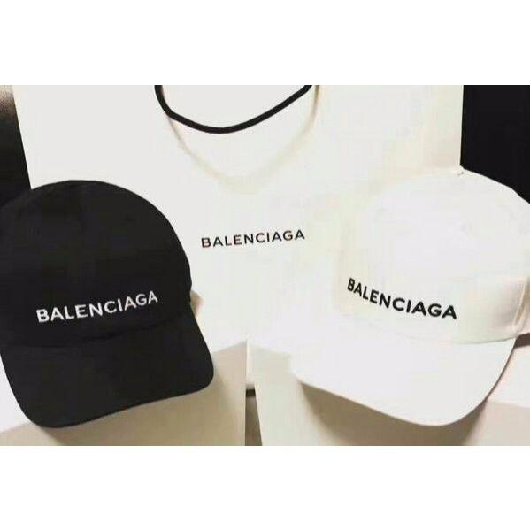バレンシアガbalenciaga キャップ 刺繍帽子 男女兼用 2色あり
