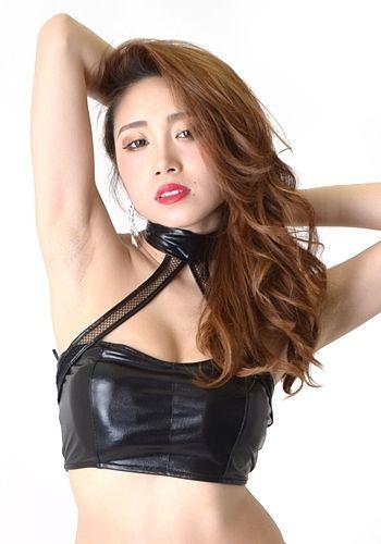 10/3 ダンス衣装【LuxuryRose】【ダンサー衣装】メタリックメッシュアメスリトップス