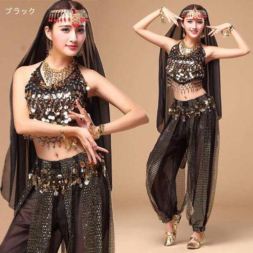 【LuxuryRose】トップス&アラジンパンツ 2点セット♪ベリーダンス アラジン衣装