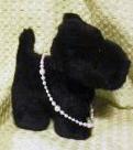 3種類のパールとガラスビーズのネックレス(白)