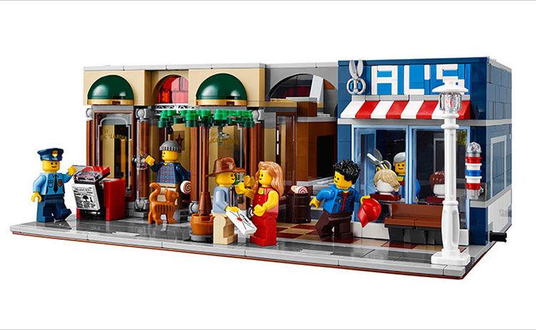探偵事務所 レゴ互換品 クリエイター Detective's Office レゴ 互換 10246相当 15011