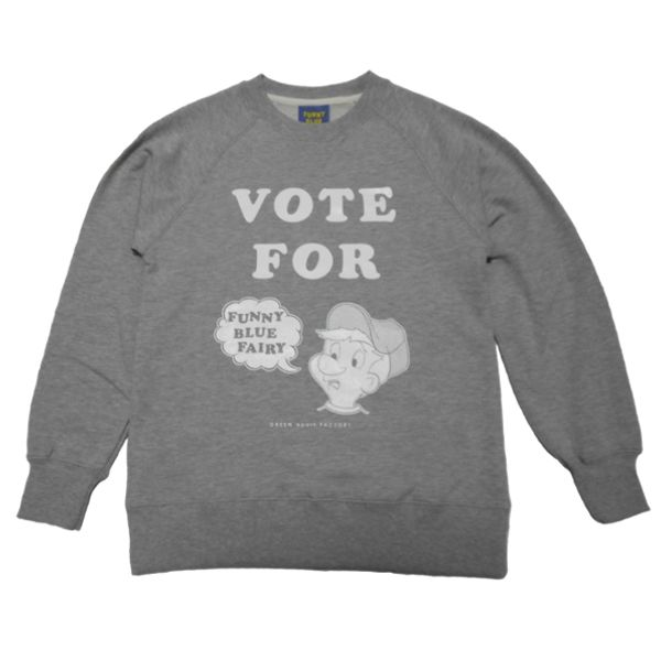 VOTE FOR...CREW NECK SWEAT(GRAY)