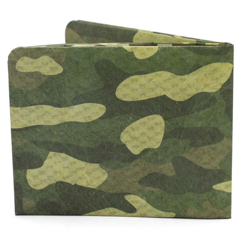 【SOL014CAM】paperwallet/ペーパーウォレット-Pattern Wallet-CAMO タイベック素材 紙の財布