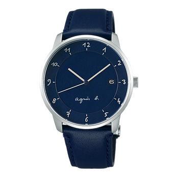 アニエスb腕時計 ☆ 38ミリ径のユニセックスなケースです 〔FBRK999〕・・新品・保証書付
