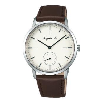 アニエスb腕時計 ☆ 38ミリ径のシンプルなケースでジェンダーレスにお使いいただけます〔FCRT970〕・・新品・保証書付