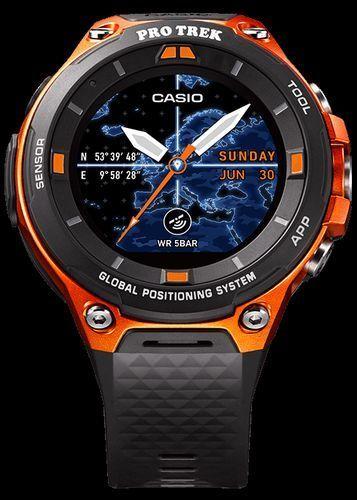 [カシオ]CASIO スマートアウトドアウォッチ◆ プロトレックスマート GPS搭載 〔WSD-F20-RG 〕