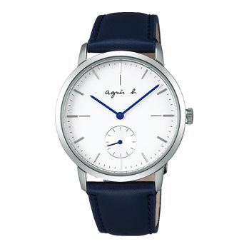 アニエスb腕時計 ☆ 38ミリ径のシンプルなケースでジェンダーレスにお使いいただけます〔FCRT971〕・・新品・保証書付
