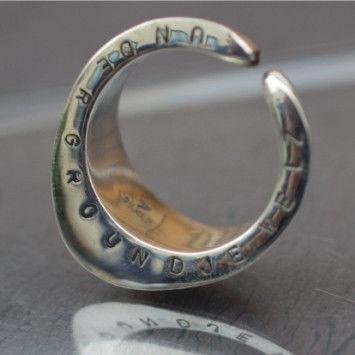 Hoof Of Horseshoe Ring