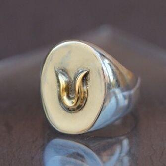 One Horseshoe Ring