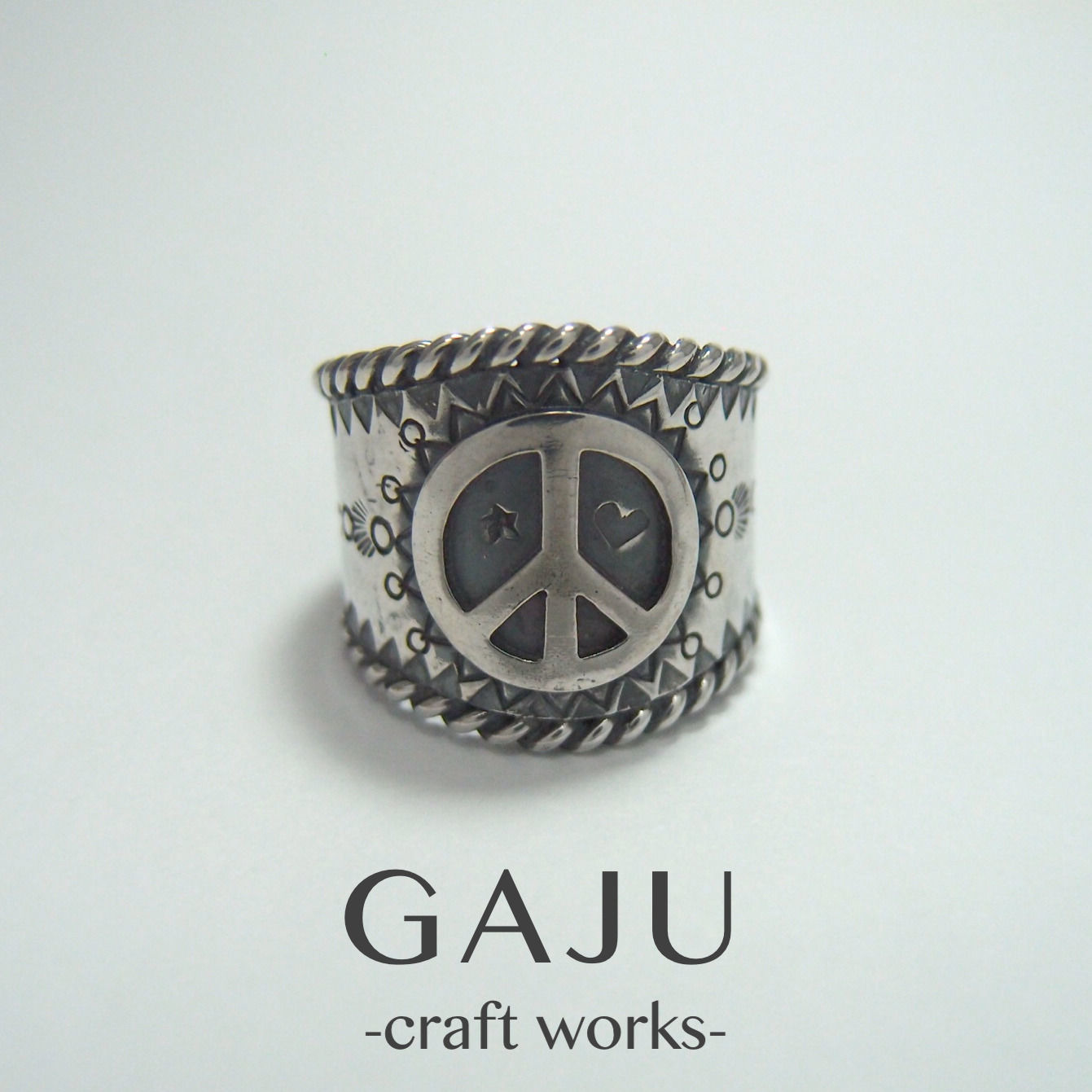 rope ring ver.Peace sign