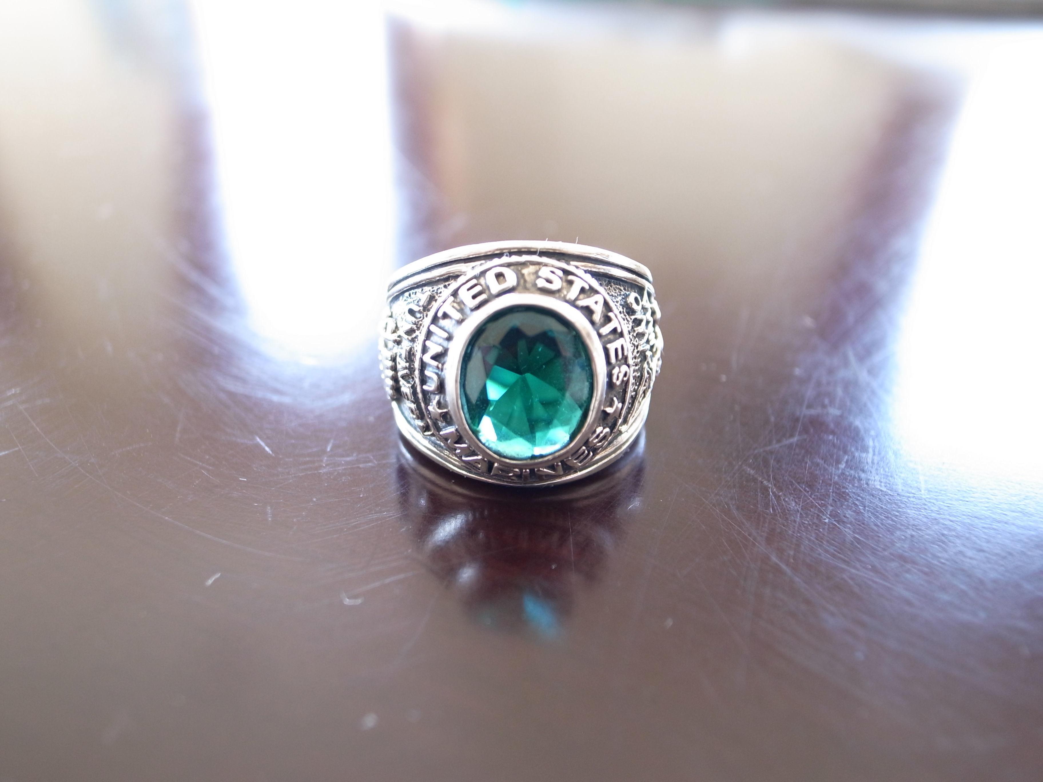 US MARINES Ring 約19号 カレッジリング