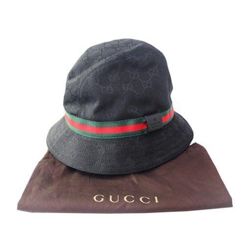 GUCCI /  BUCKET HAT black