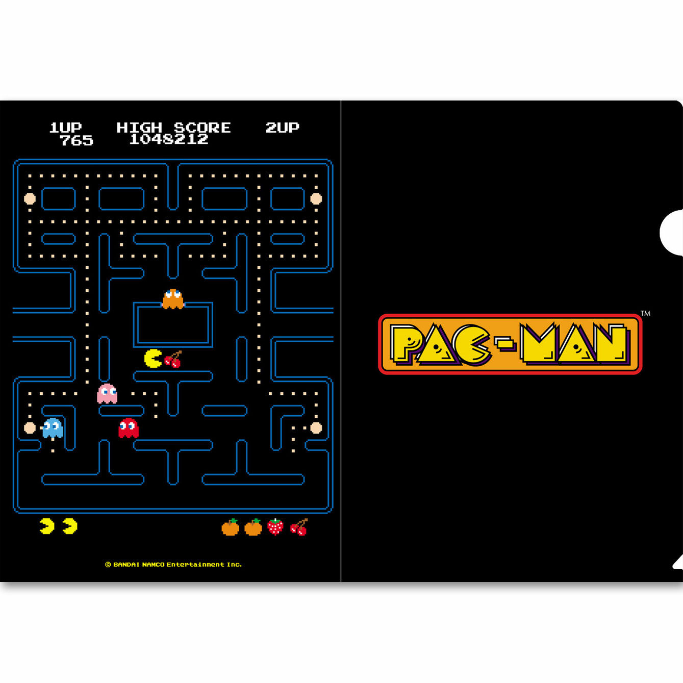GINZA x Original PAC-MAN クリアファイル
