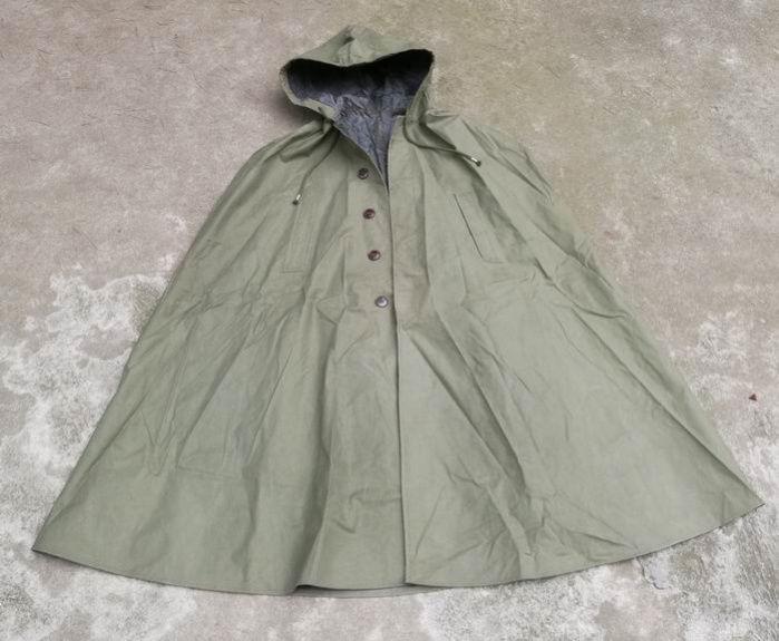 中国人民解放軍65式雨衣(レインコート)